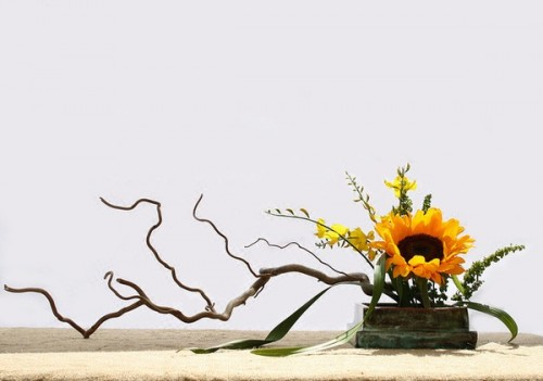 Cắm hoa hướng dương ấn tượng